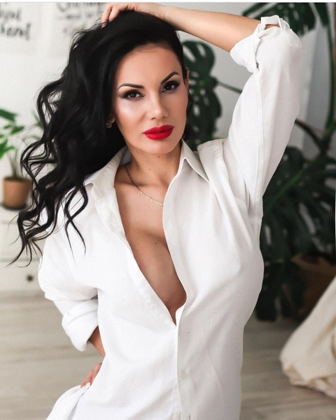 radiant Russian womanhood from city Moscow Russia